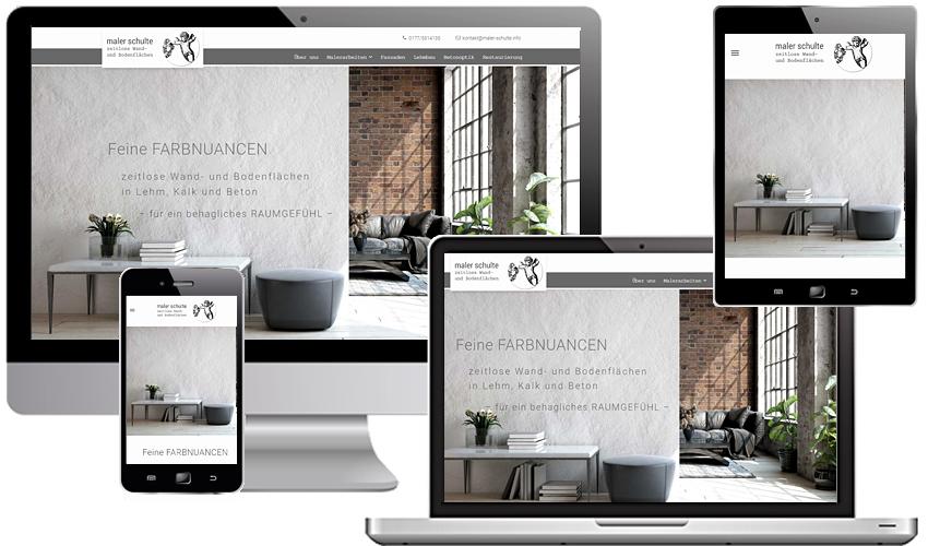 Eine neue Internetpräsenz für den Maler, Lehmbauer und Restaurator aus Leidenschaft