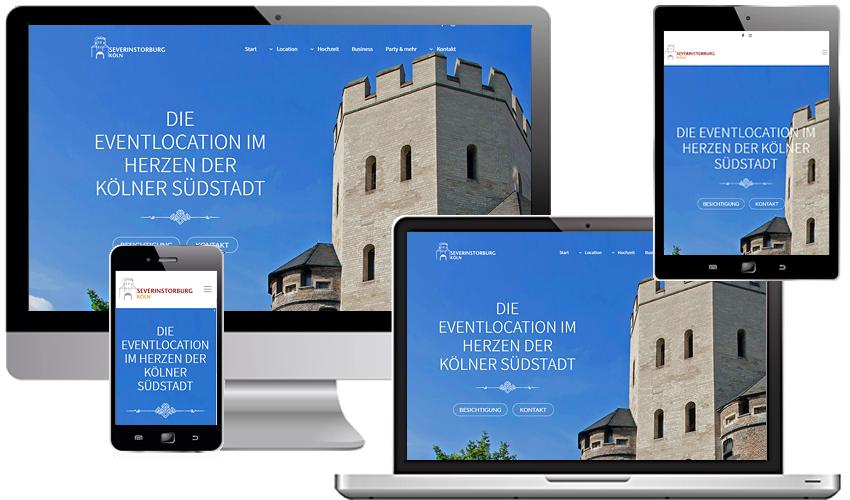 Große Bilder - große Emotionen - Relaunch für eine ganz besondere Kölner Event- und Hochzeitslocation