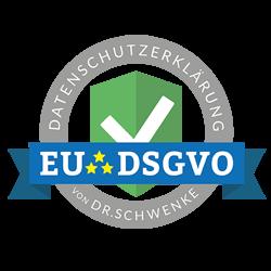 EU DSGVO Datenschutzerklärung Dr. Schwenke